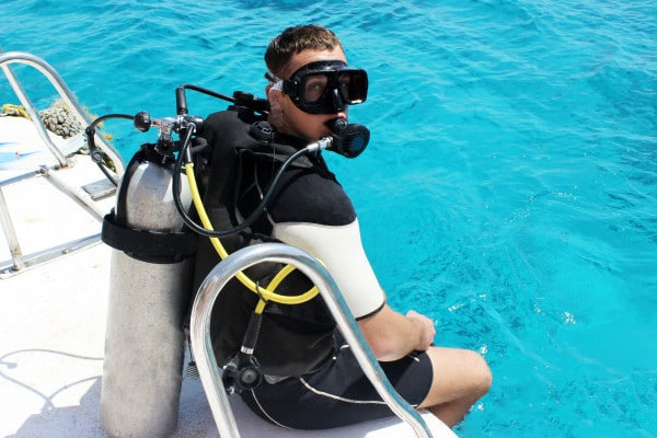 Is it safe to go diving in a pandemic