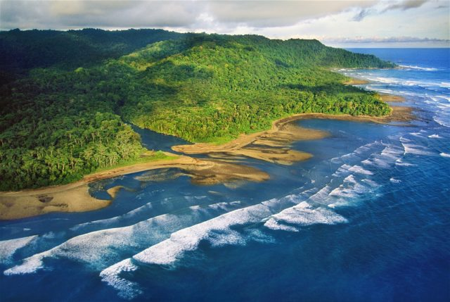 Corcovado National Park, the greatest biodiversity in the world.