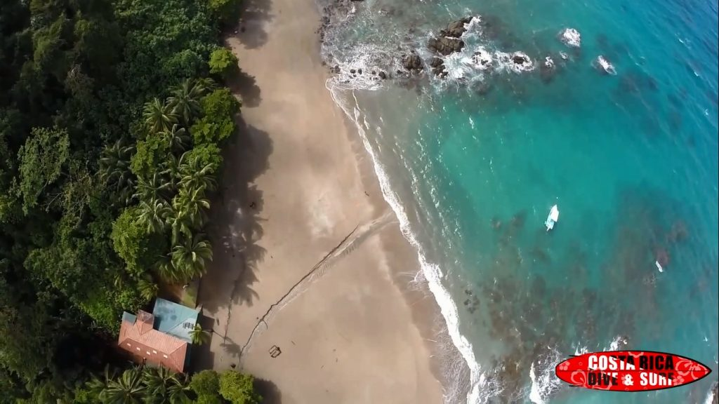Drone footage at Caño Island