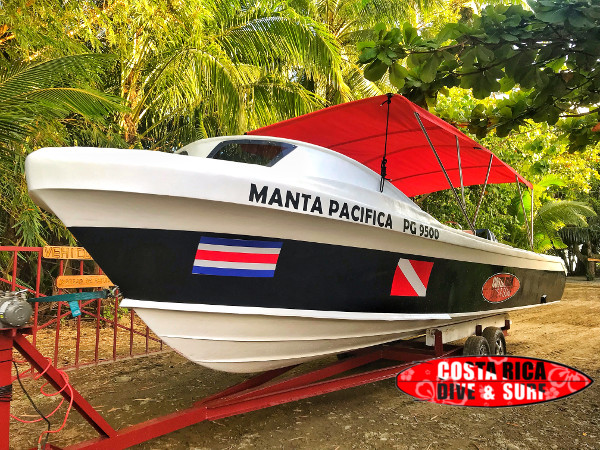 High speed boat for Corcovado National Park Tour
