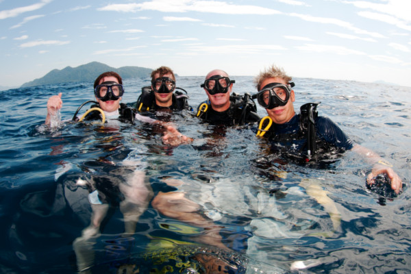 Why become a diver