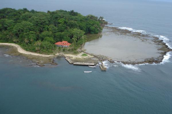 Isla Uvita Caribbean side Costa Rica