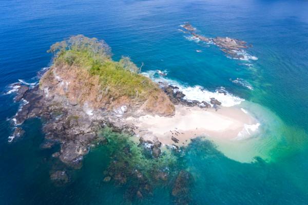 Snorkeling in Isla Chora, Costa Rica