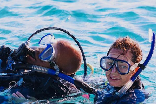 PADI Rescue diver. Scuba diving lessons in Costa Rica