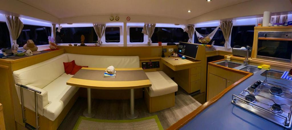 Catamaran Galley