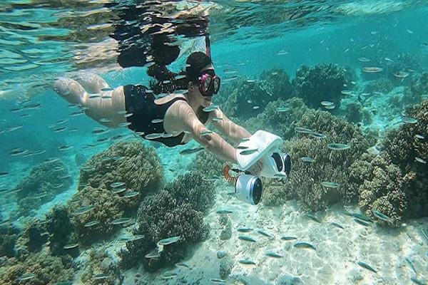 Underwater scooter new model