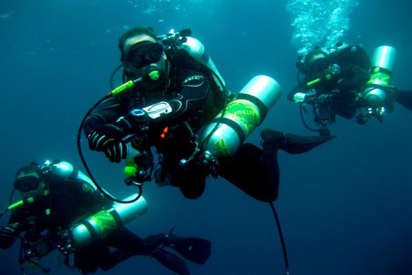 Technical Diver enriched air