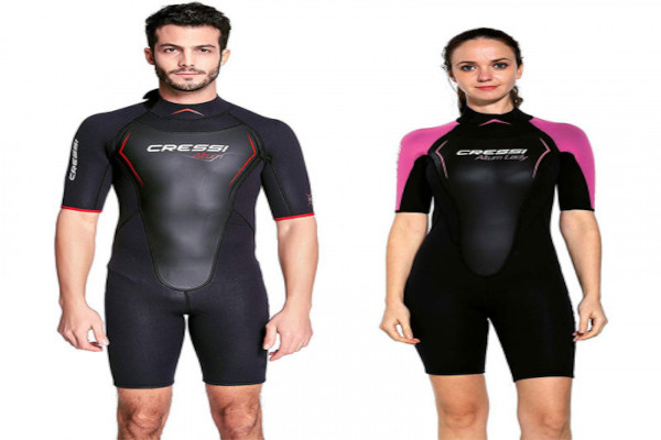 wetsuit short for man and woman